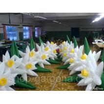 """Пневмоцветы для вашего торжества  """"лилии"""" 5м (ВИДЕО)"""
