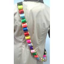 Аксессуар к костюму Шляпника - лента с катушками ниток