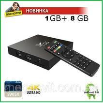 ТВ приставка X96 SMART TV BOX