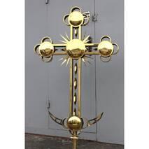 Накупольний хрест 002М, купити в Україні