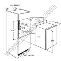 Холодильник ELECTROLUX ERN1400AOW