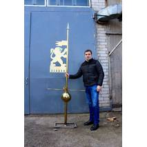 Флюгер з нержавіючої сталі 2, купити в Україні