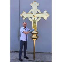 Хрест накупольний 021, купити недорого