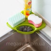 Органайзер для умивальника на кухні (підставка для раковини)