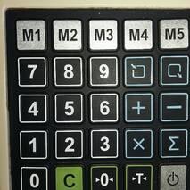 Килимок клавіатури CAS ER