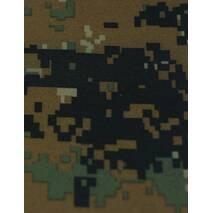 Ткань дюспо бондинг - флис камуфлированный (плотность - 195г/м2, состав - 100% полиэстер)