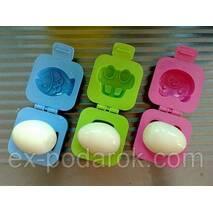 Формочки для вареных яиц , желе , риса....2 шт (машинка + рыбка).