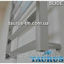 Низький полотенцесушитель Slide 4/500 мм для невеликої ванни кімнати. Україна, Сміла (TAURUS)