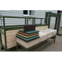 Оборудование для производства резиновой плитки и резиновых напольных покрытий, купить в Луцке