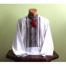 Традиционная украинская рубашка мужская, вышитая