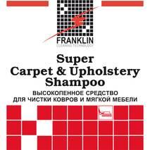 SUPER CARPET &  UPHOLSTERY - концентрированный шампунь для чистки сухой  пеной ковров и мягкой мебели, 5 л FRANKLIN F-099