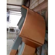 Радіусні вироби з тонколистової сталі з полімерним покриттям від виробника