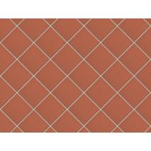 Підлогова плитка King Klinker (01) Червоний 150х150
