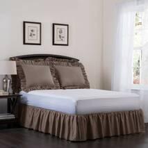 Підзор на ліжко Рюші Модель 7 Порох