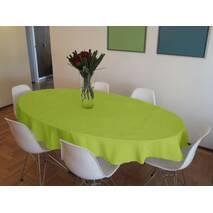 Скатертина САЛАТОВА для квадратного, круглого, прямокутного, овального столу