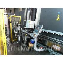 Стеклопакетная линия Lisec 1600 X 3500 с газ прессом и роботом герметизации