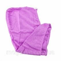 Рушник тюрбан для волосся з мікрофібри