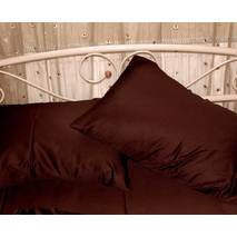 Наволочка Темно-коричневая