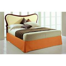 Спідниця для ліжка Салатова Модель 2 строгий Мodern