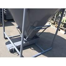 Бункер для бетону, 1 м3, туфелька, бадья