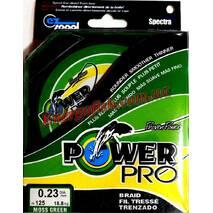 Шнур Power Pro 0,25мм 125м 20.9кг Зелёный