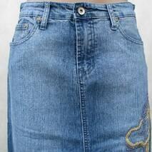 Спідниця жіноча джинс