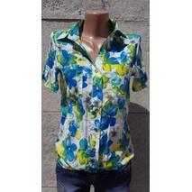 Блуза жіноча Квіти Блакитної, 38