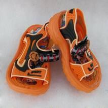 Сандалі дитячі помаранчеві