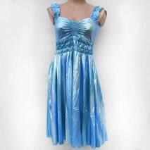 Женский сарафан голубой