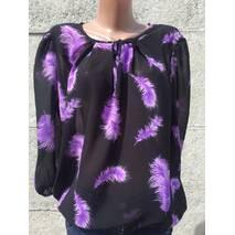 Блуза жіноча Classik фіолетовий