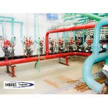 Монтаж  системы пожаротушения водяного , газового, порошкового