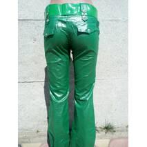 Штани жіночі кольорові Зелений, 29