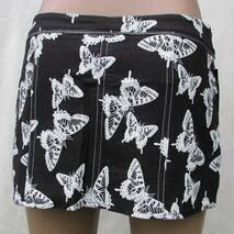 Спідниця метелик сірий