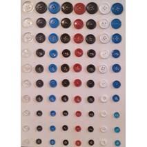 Ґудзики пластмасові для спецодягу