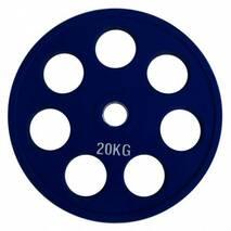 RCP19-20 Alex Цветной диск олимпийский обрезиненный, 20 кг