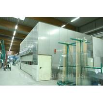 Печь закалки стекла Glassrobots 3.210 x 8.000 mm