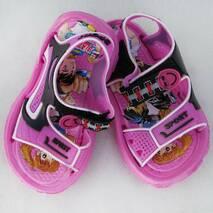 Сандалі дитячі рожеві