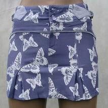 Спідниця метелик фіолетовий
