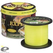 Леска Carp Expert UV Fluo yellow 0,40мм 1000м