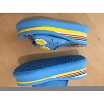 Шльопанці дитячі блакитні 25-34 розмір