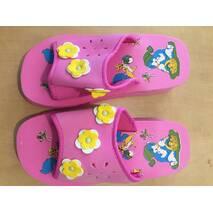 Шльопанці дитячі рожеві 25-34 розмір