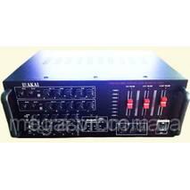 Підсилювач потужності звуку AKAI AMP AK3000 220v 12 V