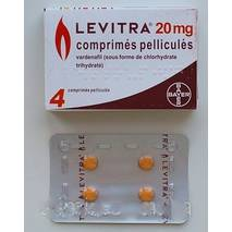 Левитра оригінал ® Bayer ( Варденафил), Levitra (4 пігулки) препарат підвищення  для потенції