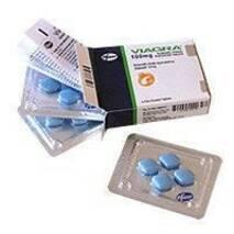 """""""Виагра"""" Pfizer Пфайзер оригинал для повышения потенции, аптечный вариант (4 табл.)."""