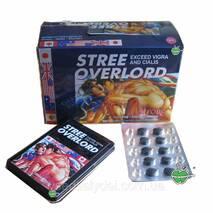 Stree Overlord Стри Оверлорд - потенция и лечение простатита10 таблеток+10 шариков в упаковке