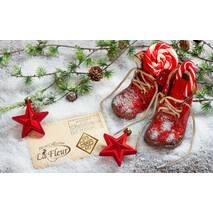 Паперові новорічні серветки ТМ Luxy і ТМ La Fleur, купити