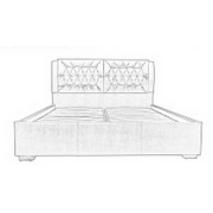 """Ліжко """"Моніка"""" з  механізмом підйому (160 см)"""