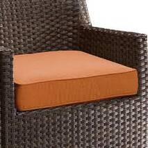 Декоративна подушка на сидіння модель 1 квадратна Салатовий