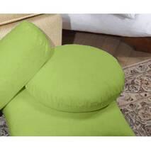 Декоративна кругла подушка модель 3 Білий