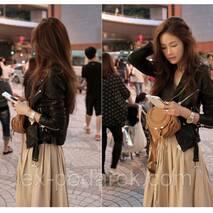 Шикарная женская курточка косуха.